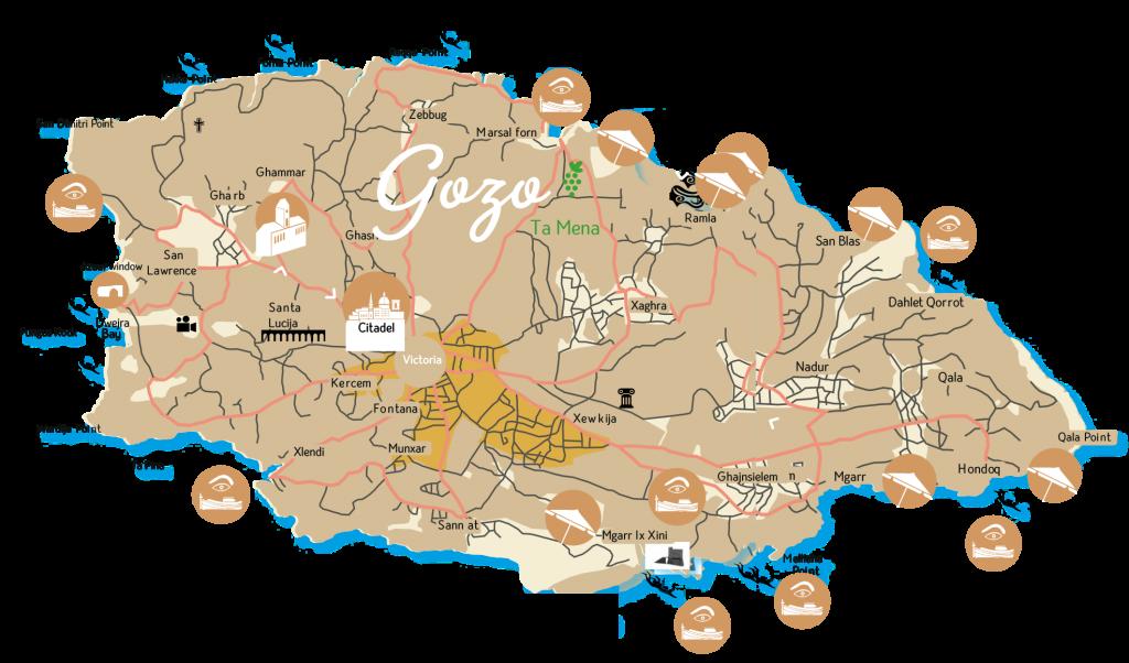 kaart-gozo